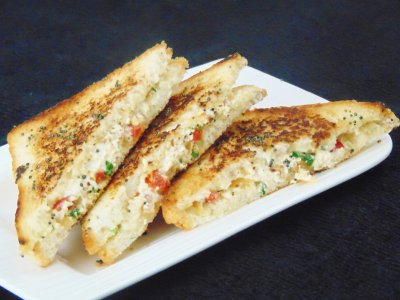 Have you tried this curd veggie sandwich - Telugu easy fast short recipes