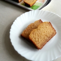 Egg-less Mawa Cake