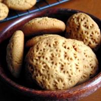 Wholewheat coffee cookies