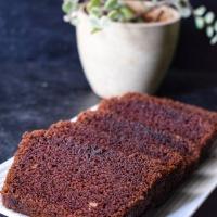 Eggless wholewheat chocolate cake